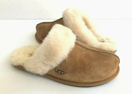 Ugg Scuffette Ii Chestnut Wool Shearling Lined Slippers Us 12 / Eu 43 / Uk 10 - $83.22