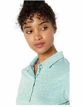 PUMA 2019 Women's Swift Polo Shirt Top 577922_08 Blue Turquoise (XS) XSmall   image 4