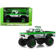 1974 Ford F-250 Monster Truck #19 GreenLight Racing Team 1/43 Diecast Mo... - $35.10