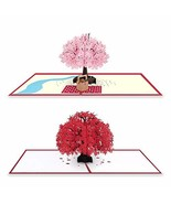 2 Pack Pop Up Card for Mother's Day, 3D Greeting Cards, Birthday Pop Up ... - $9.50