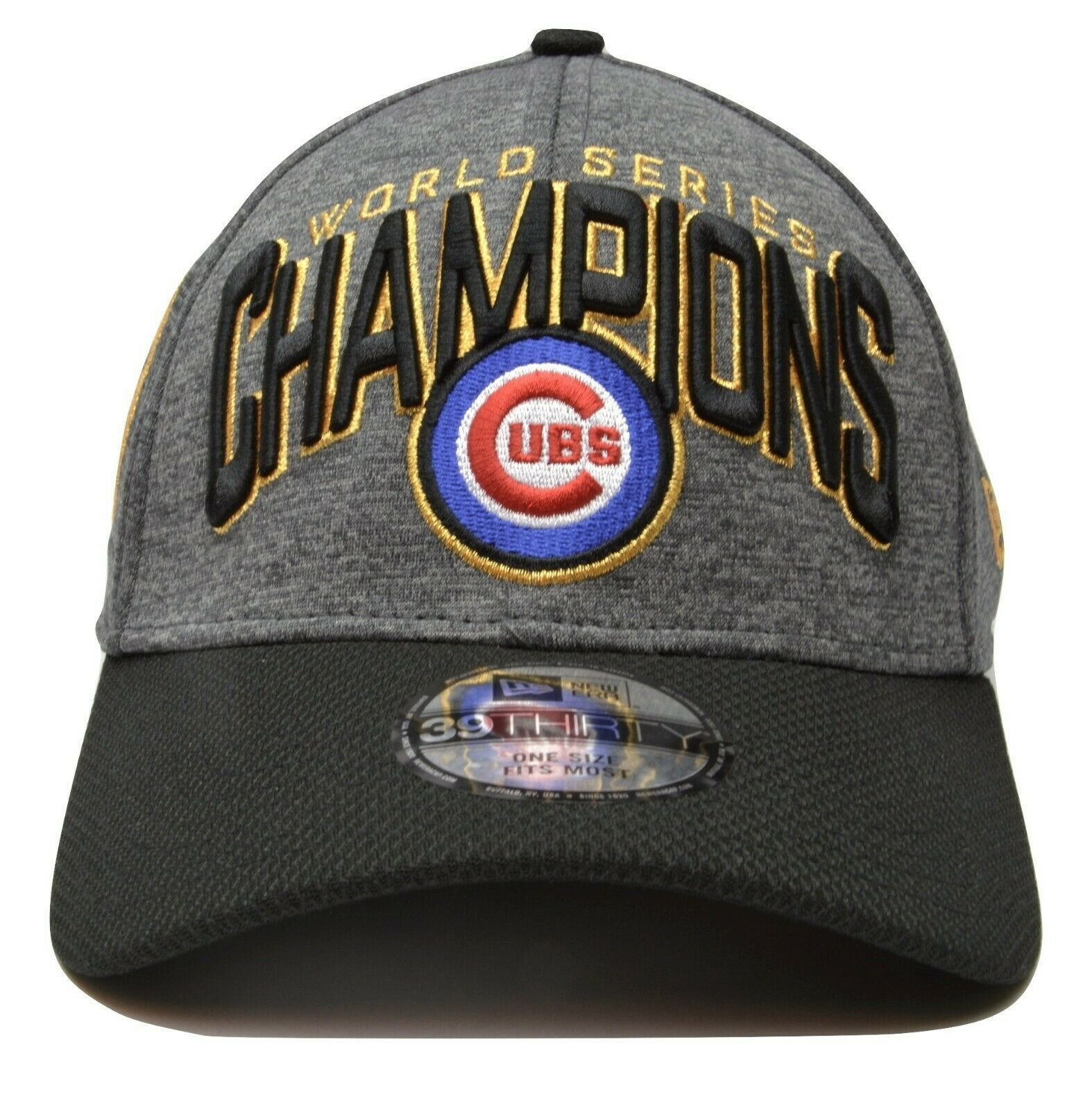Primary image for Chicago Cubs New Era 39THIRTY World Series Champions MLB Baseball Hat