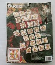 Bucilla 83228 Cross Stitch Christmas Alphabet Ornament Kit Vtg Set of 26... - $14.49