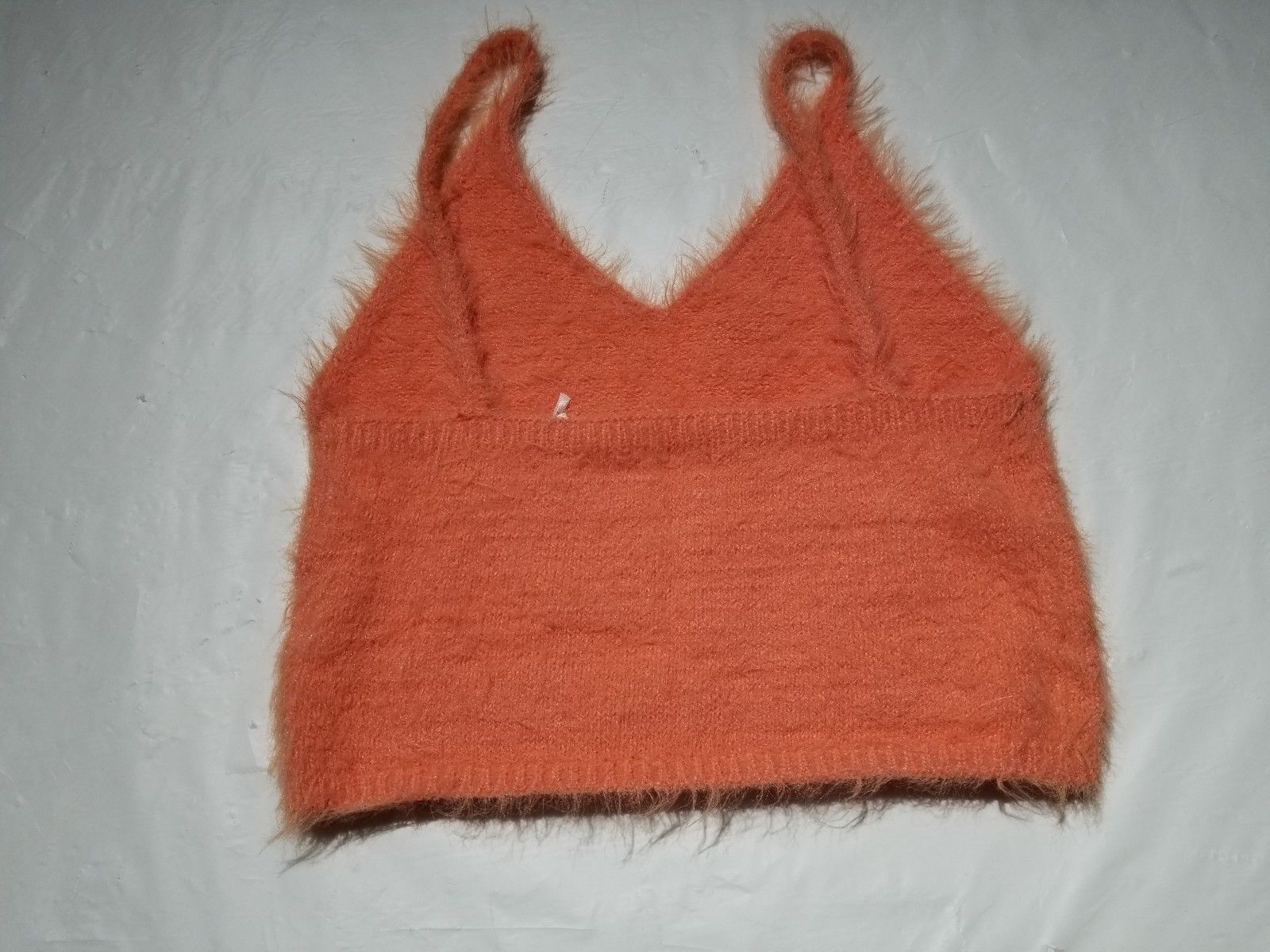 Urban Outfitters Kimchi Blue Fuzzy Cami Orange Size M NWOT