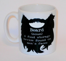 Beard Definition Food Storage Can Personalise Funny Fathers Day Dad Uncl... - $11.41