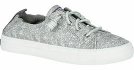 Sperry Top-Sider Womens Crest Ebb Sandwash Gray Slip-On Sneaker Shoes NIB