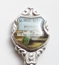 Collector Souvenir Spoon Canada Alberta St. Paul UFO Landing Pad - $9.99