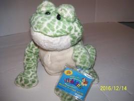 Plush spotted Frog Stuffed Green Animal Webkinz Ganz NWT Sealed Code  - $19.80
