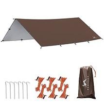 MC Camping Tarp Hammock Rain Fly Tarp 13x9.5FT/9.8x9.5FT (13.1*9.5ft) - $51.47