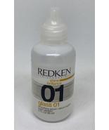 Redken 01 Glass - brown lettering - 2 oz - $89.99
