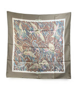 Authentic Hermes Vintage Silk Scarf Cols Verts 1973 Christiane Vauzelles... - $316.80