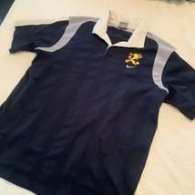 NIKE Soccer polo navy gold lion boys 18/20 - $9.85