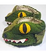 Gator Zooties Baby Booties Silk Road Bazaar 0-12 month Slippers Crocodil... - $29.88