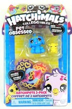 Hatchimals CollEGGtibles Pet Obsessed Hatchipets 2 Pack Hatchy Hearts NEW Kids - $11.19