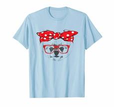 Dog Fashion - Bandana & Glass Pomeranian Gift Shirt For Mothers Day Men - $19.95+