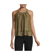 a.n.a Sleeveless Sparkle Top Size L, XL Msrp $38.00 New - $12.99