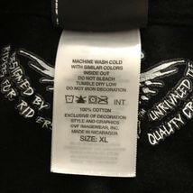 Harley Davidson T Shirt Skeleton Clown Size XL Sturgis MI Black Motorcycle image 11