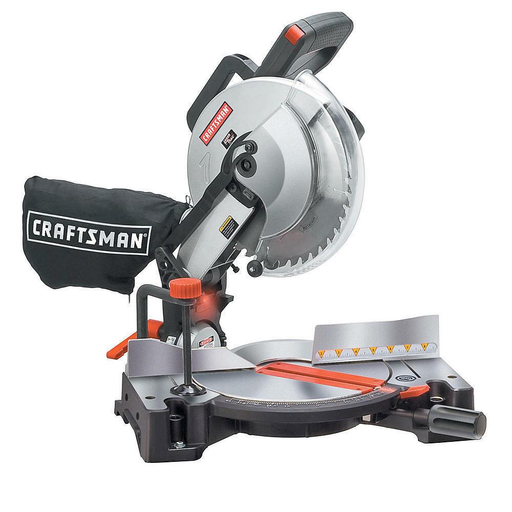 Craftsman 10 Inch Compound Miter Saw - $252.97