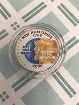 2000 D New Hampshire Enameled State Quarter *FREE SHIPPING* - $3.92