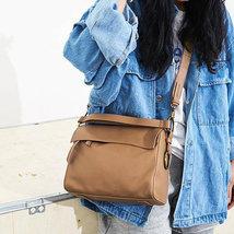 Sale, Flap Cover Shoulder Bag, Women Full Grain Leather Handbag, Crossbody Bag image 5