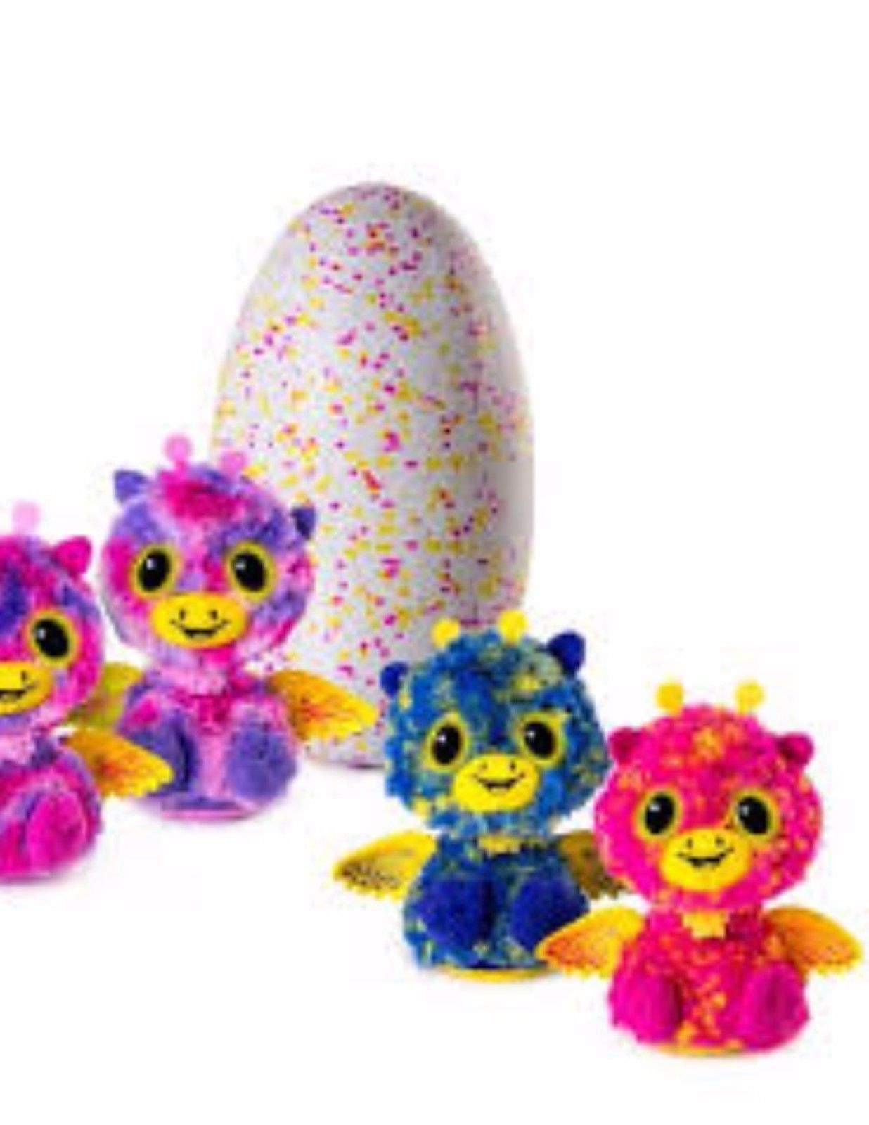 Hatchimals Glittering Garden Hatching Egg Surprise Giraven or Peacat Or Zuffin
