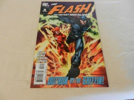 The Flash The Fastest Man Alive Outrun by the Griffin! DC Comics #3 Octo... - $7.42