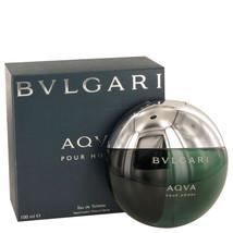 Aqua Pour Homme By Bvlgari Eau De Toilette Spray 3.3 Oz For Men - $64.08