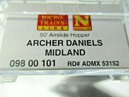 Micro-Trains # 09800101 Archer Daniels Midland 50' Airslide Hopper N-Scale image 5