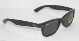 Ray-Ban Sunglasses 2132 901L Wayfarer Black Green Large Men NEW & 100% O... - $89.99