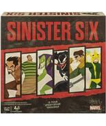 NEW SEALED Marvel Sinister Six Spider-Man Villains Heist Card Board Game - $34.64