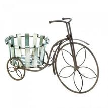 Galvanized Bucket Bike Plant Stand - €26,60 EUR