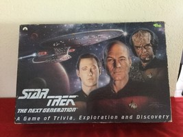 1993 Star Trek The Next Generation A Game of Trivia Exploration and Disc... - $20.00