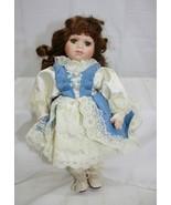 """Geppeddo 12"""" Porcelain Doll ~ Item # T1802B ~ Vintage - $9.11"""