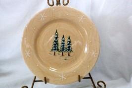 Home 2002 Northwoods Lodge Pine Tree's Salad Plate - $5.54