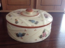 Japan Round Trinket Powder Vanity Table Box, Collectibles, Jewelry,Home,... - $34.65