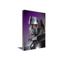 Transformers G1 MEGATRON Poster Photo Abstract WPAP POP Art on CANVAS Wa... - $45.00+