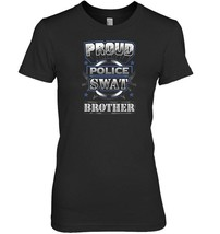 Proud Police SWAT Brother Graphic Tee - €17,16 EUR+