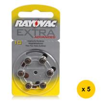Rayovac (10) Extra Advanced Zinc-Air Hearing-Aid Battery (30pcs), PR-70 - $20.49