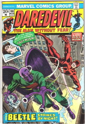Daredevil Comic Book #108 Marvel Comics 1974 VERY FINE-