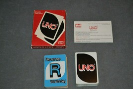 Uno Card Game [COMPLETE] 1983 - $12.00
