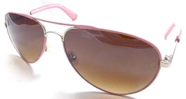 Unofficial Sunglasses Aviator UN01 Pink Frame 60x20x130 Mirrored Brown G... - $20.17