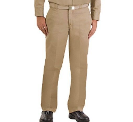 Primary image for Dickies Wrinkle Free Twill Khaki Work Pants in Waist Sizes 28 to 50 Inseam 30 in