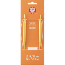 "Boye Circular Aluminum Knitting Needles 29""-Size 15/10mm - $12.23"