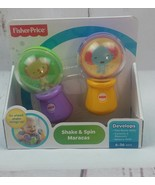 New Fisher-Price Shake and Spin Maracas Developmental for 6-36 mos Lion ... - $8.59