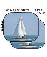 MSD Car Sun Shade - Side Window Sunshade Universal Fit 2 Pack - Block Su... - $19.98