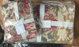 Pottery Barn Carolina Quilt Set Queen 2 Standard Shams Floral Patchwork Cottage - $259.00