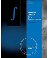 Essential Calculus: Early Transcendentals, International Metric 2nd ed. - $45.99