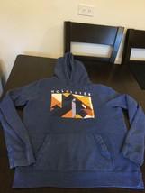 Men's Hollister California Blue Hoodie Sweatshirt Large Good Condition - $13.85