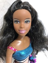 Barbie Doll Pom Pom Divas Nikki - $15.10