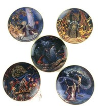 """Royal Doulton Miles Pinkney Franklin Mint Collector Plates Crystals Lot of 5 8"""" - $49.51"""