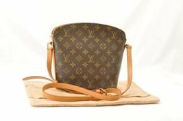 LOUIS VUITTON Monogram Drouot Shoulder Bag M51290 LV Auth cr081 **Sticky - $450.00